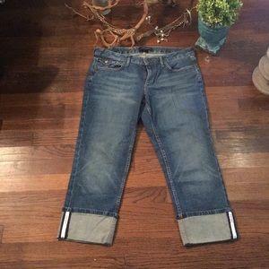 Banana Republic Cuffed Jeans